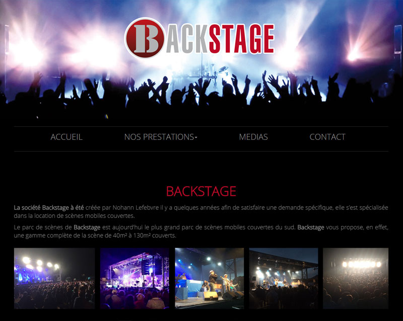Backstage event